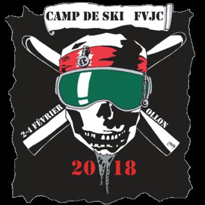 Logo camp de ski FVJC 2018 à Ollon