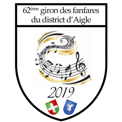 Logo giron des fanfares du district d'Aigle