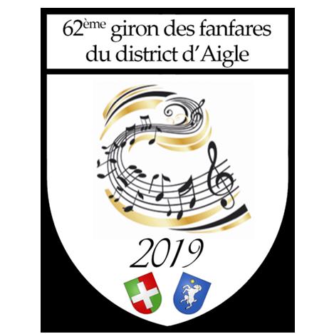 Logo giron des fanfares du district d'Aigle